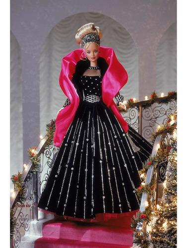 Barbie Coleccionable Happy Holidays Mattel Importada