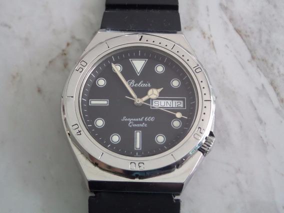 Reloj Belair Seapearl 600 De Buzo Acero Coleccion 39mm