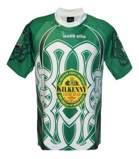 Camiseta Rugby Webb Ellis Modelo Irlanda