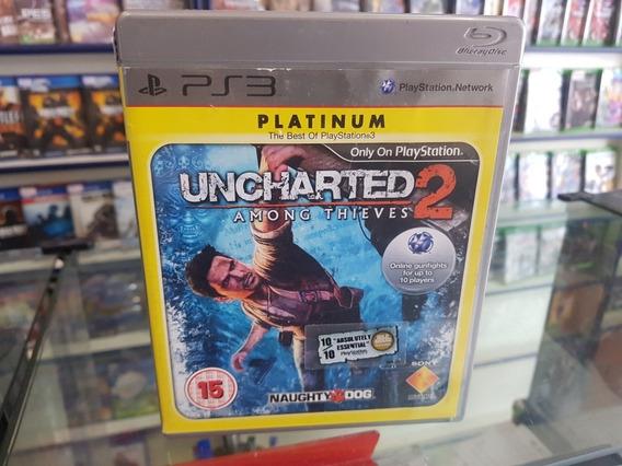 Uncharted 2 Anong Thieves Usado Ps3 Mídia Física