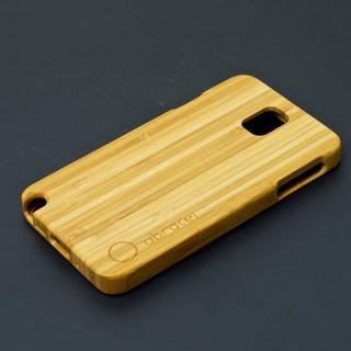 Capa De Madeira Exclusiva Para Galaxy Note 3 N9000 - Bambu