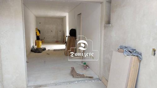 Apartamento Com 3 Dormitórios À Venda, 82 M² Por R$ 620.000,00 - Jardim - Santo André/sp - Ap16412