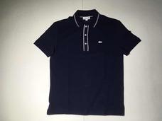 4e575bb1a3bbe Camisa Polo Lacoste Slim Fit Ph2165 21 525 Azul