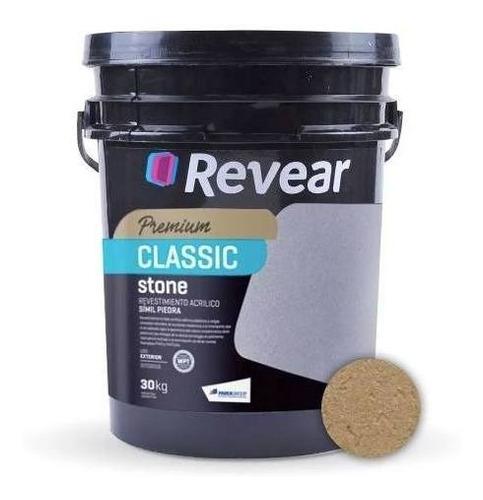 Revear Classic Stone Revest. Acrilico 30kg 18 Cuotas S/int