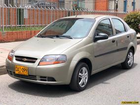 Chevrolet Aveo 1600cc Mt Aa Fe