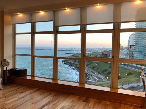 Impecable Departamento 2 Ambientes Con Vista Panorámica Al Mar