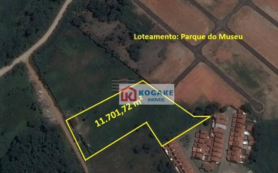 Área À Venda, 11701 M² Por R$ 4.100.000,00 - Vila Bandeirantes - Caçapava/sp - Ar0002