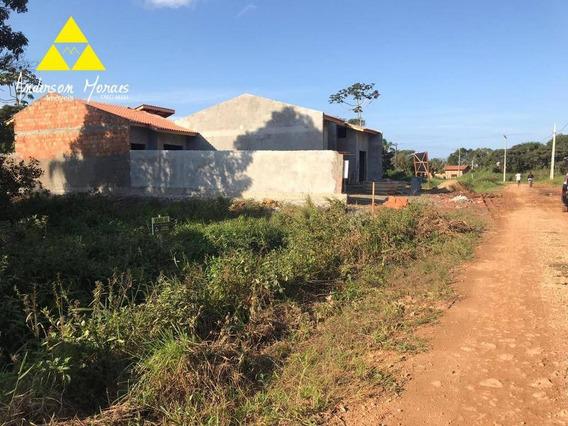 Terreno À Venda, 348 M² Por R$ 90.000 - Quinta Dos Açorianos - Barra Velha/sc - Te0186