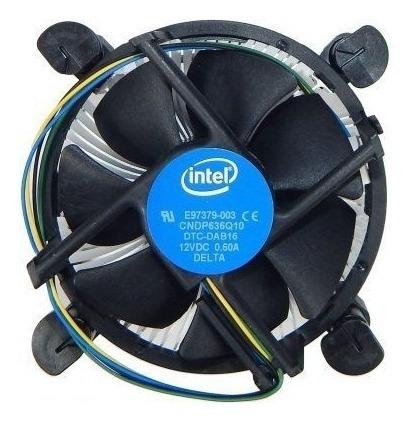 Cooler Intel Original Lga 1156/1155/1150/1151 I3 I5 I7