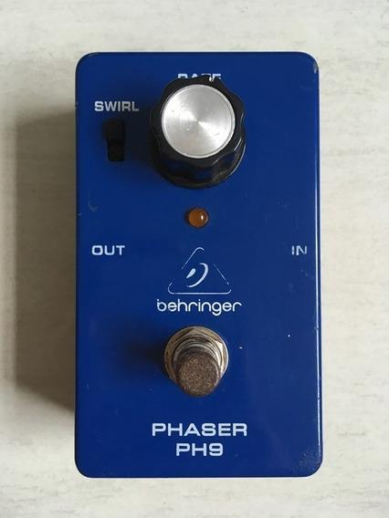 Pedal Behringer Phaser Ph-9 Com 1 Cabo De Brinde