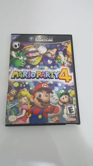 Mario Party 4 Nintendo Gamecube Original
