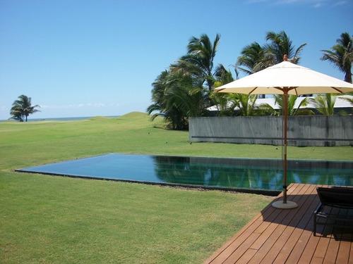 Imagen 1 de 30 de Tres Vidas, Casa Minimalista En Campo De Golf Y Playa. 4 Recamaras