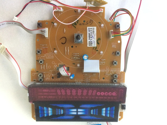 Placa Frontal/display Micro System Philips Fwt6500x/78