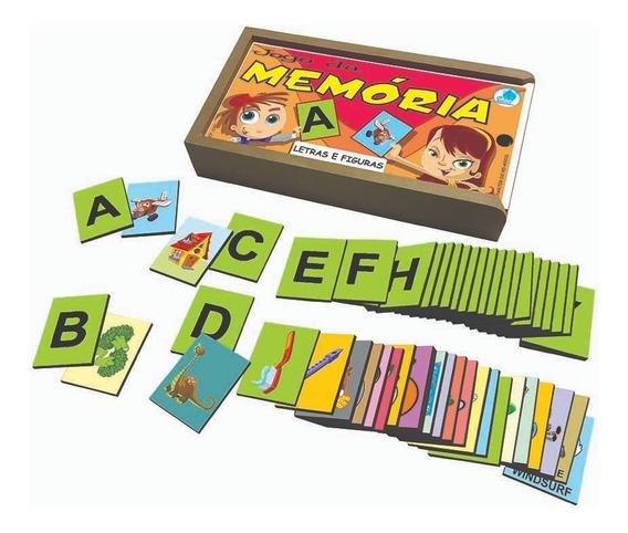 Jogo Da Memória Infantil Letras E Figuras