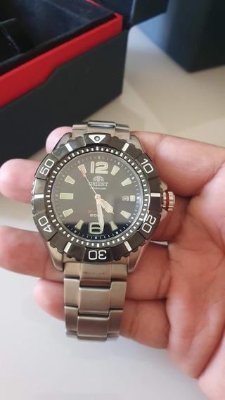 Relógio Orient M-force Titânio Automático Sdv01001bo