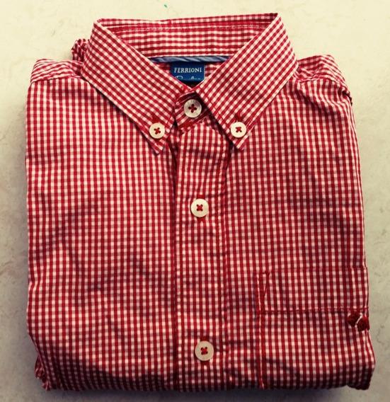 Camisa Ferrioni Talla 4 Nueva