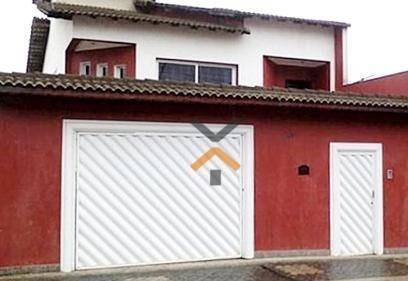 Sobrado Com 3 Dormitórios E 5 Vagas À Venda No Parque Novo Oratório, 247m² Por R$760.000 - Santo André - So0119