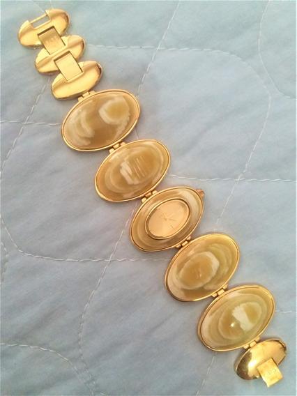 Relógio Folheado A Ouro Euro