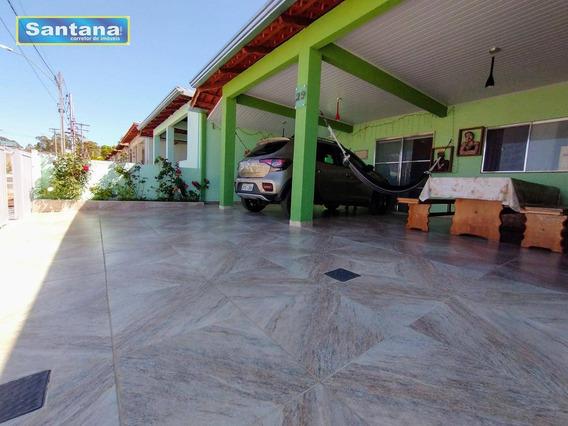 Casa Com 3 Dormitórios À Venda, 90 M² Por R$ 200.000,00 - Condomínio Girassóis - Caldas Novas/go - Ca0213