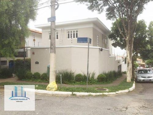 Imagem 1 de 10 de Casa Residencial À Venda, Planalto Paulista, São Paulo - Ca0074. - Ca0074