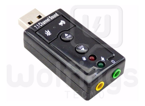 Adaptador De Audio Placa De Sonido Externa Usb Dj Pc Consola