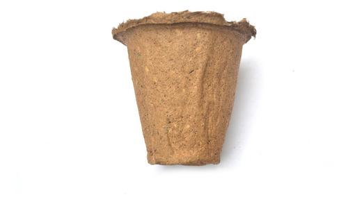 Imagen 1 de 8 de Macetas Biodegradables Todos Los Tamaños 10 Macetas Grandes!