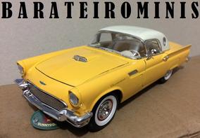 1:24 Ford Thunderbird 1957 Amarelo Sunnyside Barateirominis
