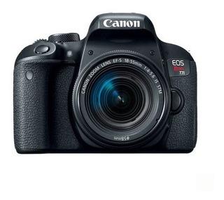 Camara Canon Eos Rebel T7i Ef 18-55mm Is Stm