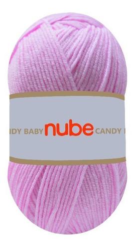 Imagen 1 de 3 de Hilado Nube Candy Baby X 1 Ovillo - 100 Grs. Por Color