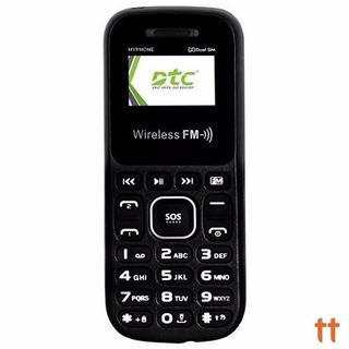 Celular Dtc M1 My Phone Dual Chip, Rádio Fm, Lanterna - Novo