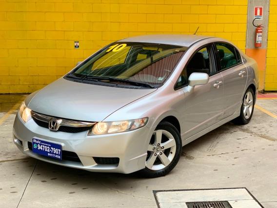 Honda Civic Lxs 1.8 Automático Impecável Flex Metro Sao Luca
