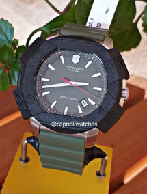 Incrível Relógio Victorinox I.n.o.x 241683.1 Verde Militar