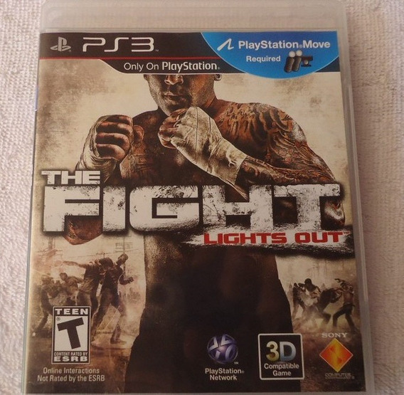 The Fight Lights Out Ps3 ** Frete Gratis Leia