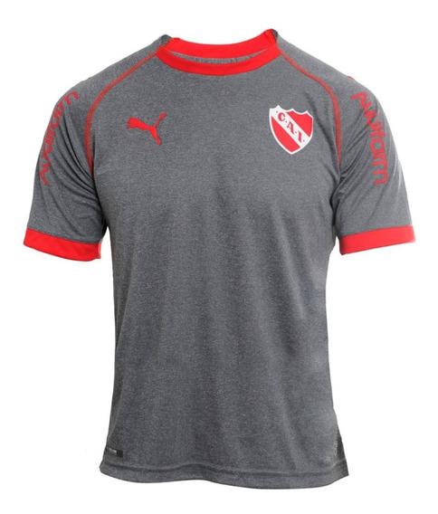 Camiseta Independiente Alternativa Gris 2018 Puma Oficial