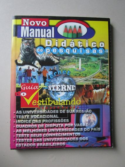 Novo Manual Didático De Pesquisas - Guia Do Vestibulando