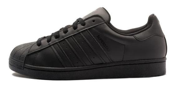 Tenis adidas Superstar Preto Black Clássico Original. Oferta