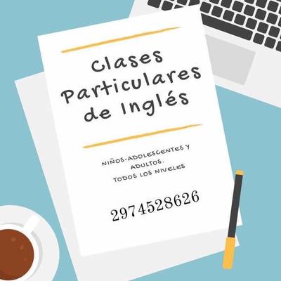 Clases Particulares/online De Inglés