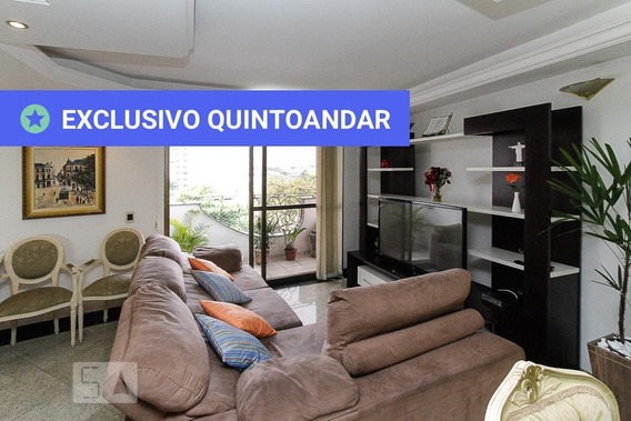 Apartamento No 3º Andar Mobiliado Com 3 Dormitórios E 2 Garagens - Id: 892984266 - 284266