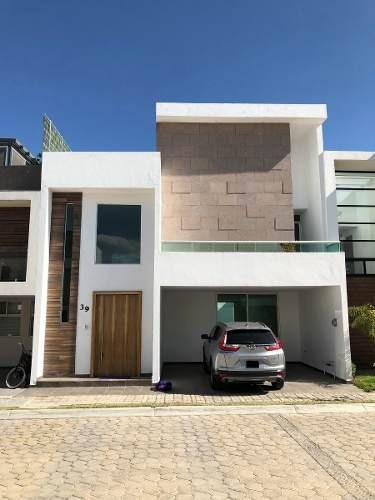 Puebla, Hermosa Casa En Lomas De Angelópolis Ii