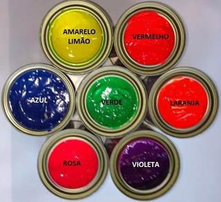 Tinta Vinilica Fluorescente Genesis 220ml