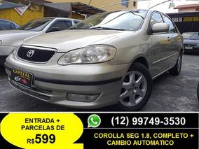 Toyota Corolla 1.8 Se-g 16v 4p Automatico 2003