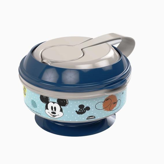 Pote De Papinha Com Amassador De Legumes/frutas Mickey