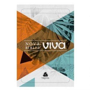 Nova Bíblia Viva Folhagem - Letra Grande
