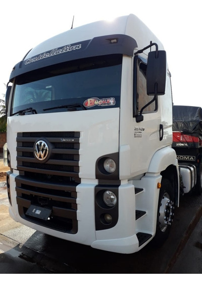 Vw 25420 Constellation 6x2 Vtronic Ano 2014 Automatico Compl