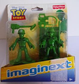 Boneco Imaginext Toy Store - Soldados - Original E Lacrado
