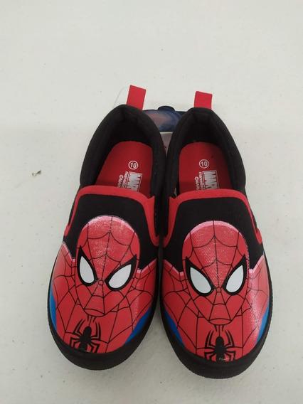 Spider Man Tenis Niño Marvel Ultimate Talla 16cm