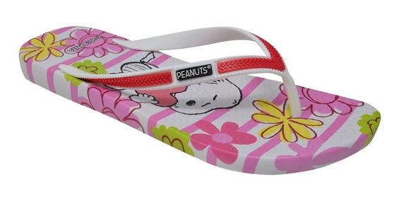 Sandalias Snoopy Dama Licencias100% Oficiales Pn-3104-fc