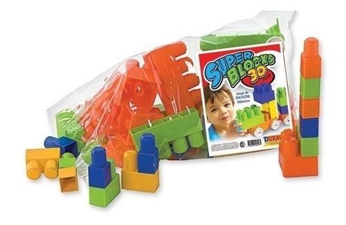 Super Blocks 30 Piezas Duravit Cuerpos Didacticos