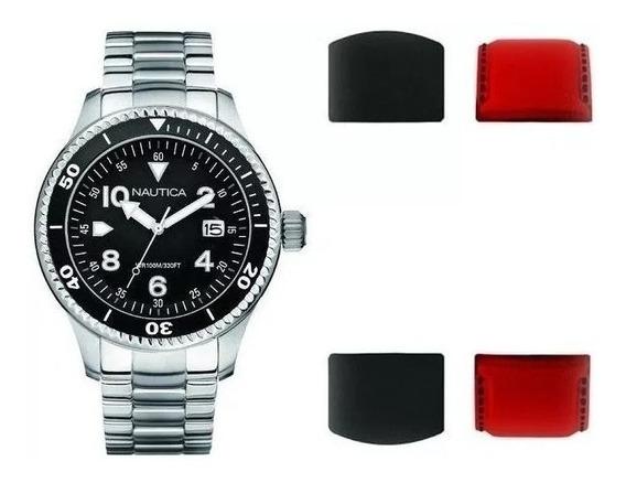 Exclusivo Reloj Nautica Box Set Nuevo Remate! Tiempo Exacto