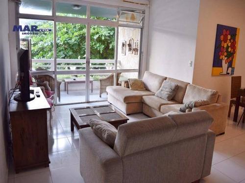 Imagem 1 de 16 de Apartamento Residencial À Venda, Centro, Guarujá - . - Ap9078